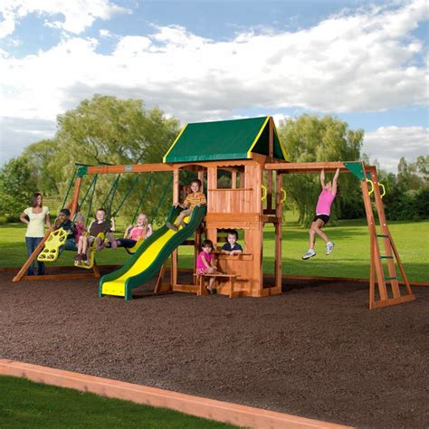 best outdoor swing sets 24 best outdoor playsets images on pinterest outdoor