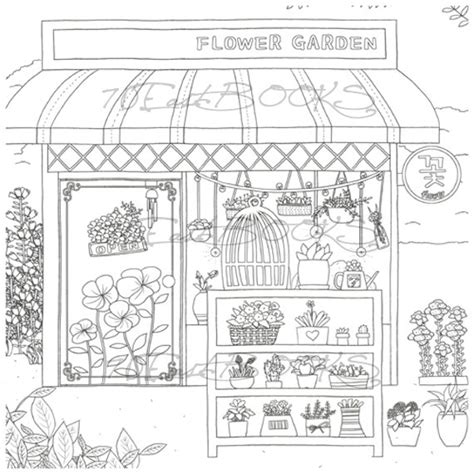 coloring shoo store coloring book for decorate your own