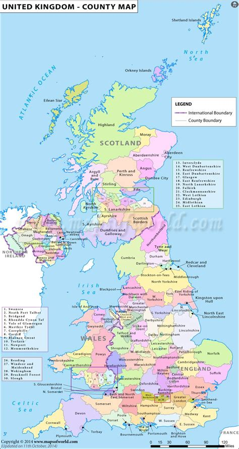 map uk counties map of the counties in the united kingdom history
