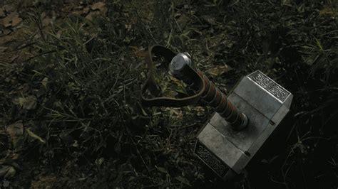 mjolnir the hammer of thor wallpaper 1034435