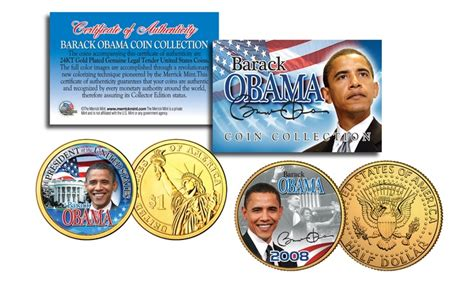 obama presidential caign up to 15 off on barack obama presidential coins