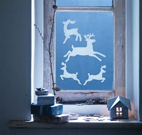 fensterbilder zu weihnachten selber machen fensterbilder zu weihnachten ideen mit transparentpapier