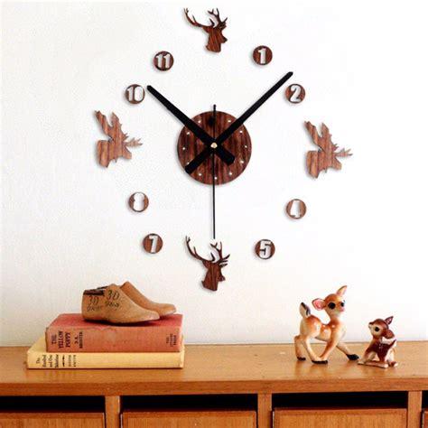 Jam Dinding Besar Diy 30 60cm Diameter Elet00663 jam dinding besar diy 30 60cm diameter elet00663 brown jakartanotebook