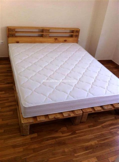 Ideas For Bed Frames Ideas About Pallet Bed Frames Pallet Wood Projects