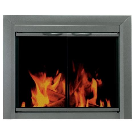 shop pleasant hearth craton gunmetal large cabinet style
