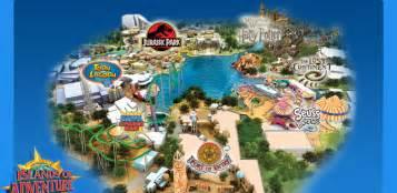 Universal Studios Orlando Interactive Map by Universal Studios Orlando And Islands Of Adventure Theme