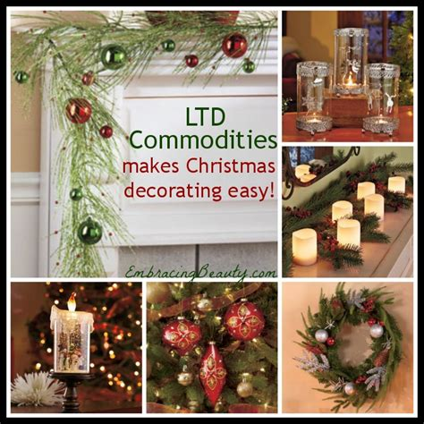 ltd commodities christmas decorating gift ideas