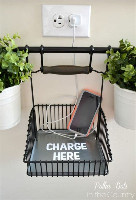 diy home charging station guest post diy charging station using ikea s fintorp