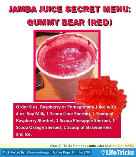 Jamba Juice Detox by Best 25 Jamba Juice Ideas On Jamba Juice