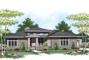 Prairie Style House Plans by Plan W89684ah Prairie Style Ranch Home Plan E