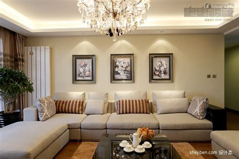luxury living room interior style with pop ceiling
