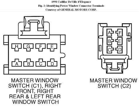 97 cadillac window switch wiring diagram wiring