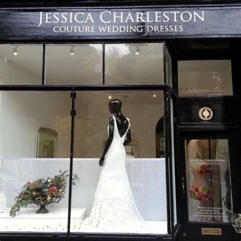 Wedding Window by Twelve Window Displays In Bath Wedding Dress Shop