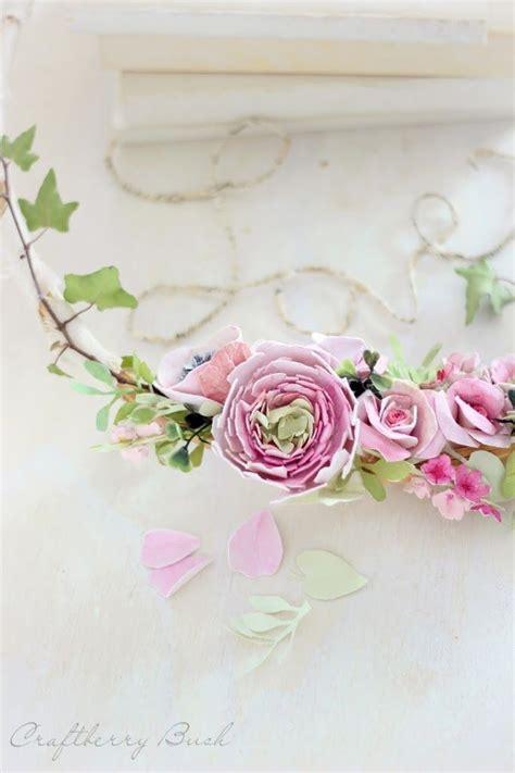 magnolia paper flower tutorial craftberry bush watercolor paper magnolia flower