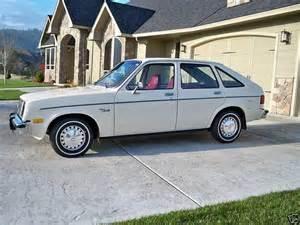 1980 chevrolet chevette 1980 chevrolet chevette