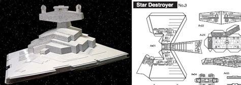Destroyer Papercraft - 40 amazing papercraft templates for the inside you