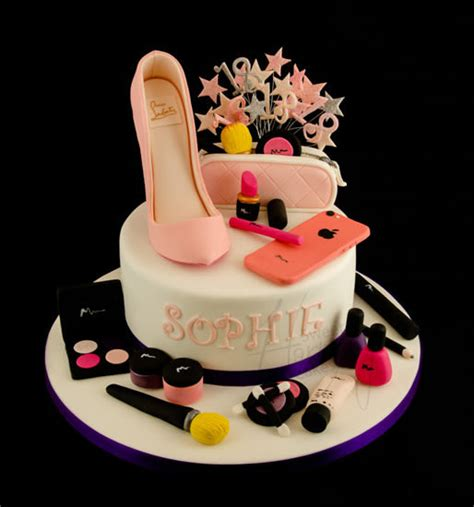Home Decor Sewing Blogs shoe and makeup cake cake by sweet harmony cakes