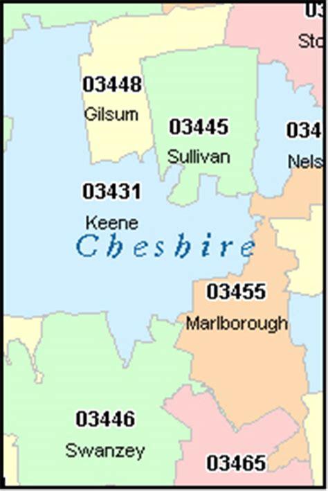 new hshire zip code map keene new hshire nh zip code map downloads