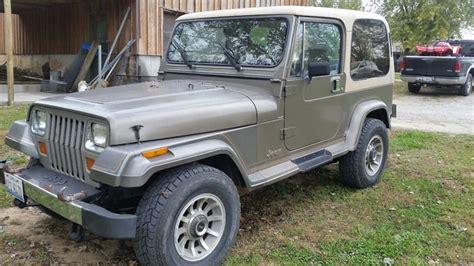 Jeep Laredo For Sale 1989 Jeep Wrangler Yj Laredo For Sale