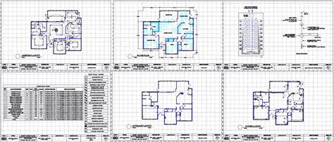 electrical layout plan of residential building residential building electrical design dwg full project