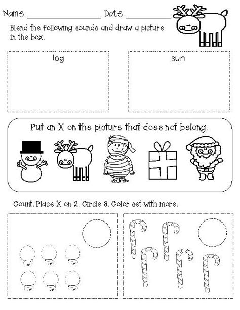 Work For Kindergarten Worksheets by 13 Best Images Of Morning Work Worksheets For Kindergarten