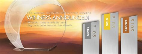 mobile site awards horizon interactive awards website awards web design