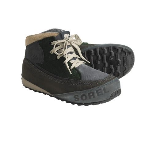 most comfortable chukka warm comfortable snow sneakers sorel chesterman holiday