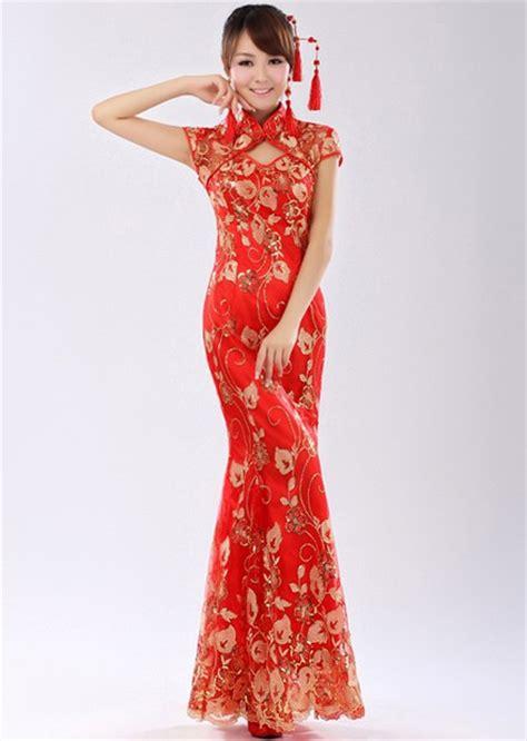 Collar Dress Midi Black Greybaju Blouse Wanita length qipao cheongsam wedding dress