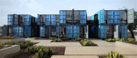 Shipping Containers Provide Sustainable Housing in Phoenix