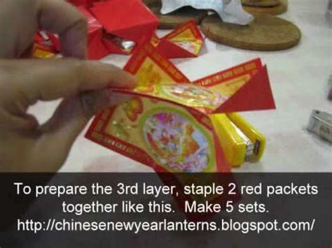 new year lantern packets how to make a flower new year lantern using
