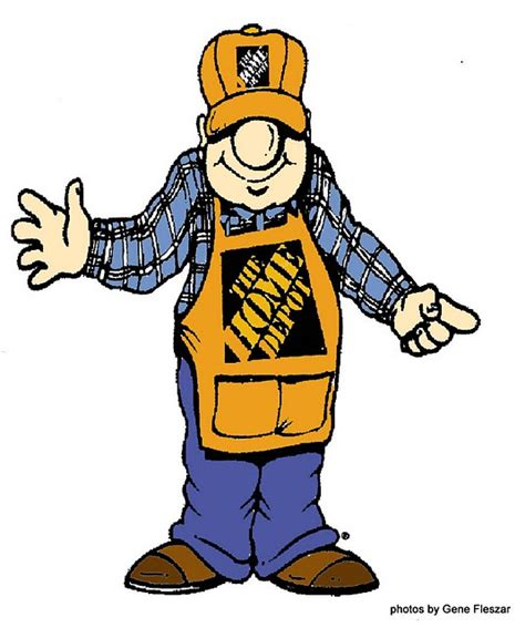 the home depot homer pictures to pin on