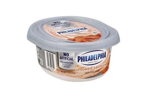 protein 8 oz salmon philadelphia salmon cheese 8 oz tub kraft recipes