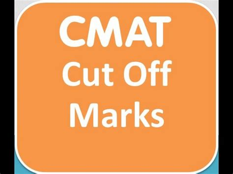 Ms Mba Cmat Cut by Cmat September 2014 Cut Marks For Admission To Top B