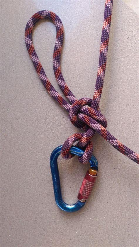 nudo escalada nudo de mula nudos nudos cuerda y escalada