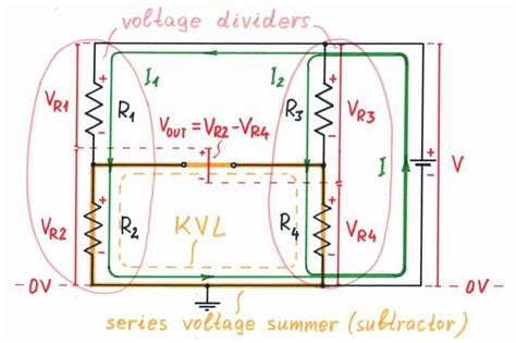 wheatstone bridge kvl what is the idea of a balanced bridge circuit why it is