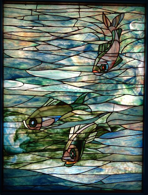 File:Window by Louis Comfort Tiffany, Tiffany Glass and