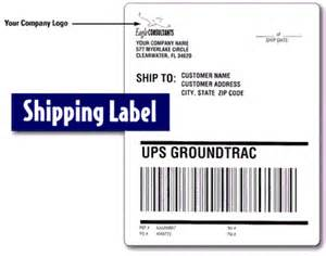 shipping labels template top 4 layouts of shipping label templates word templates