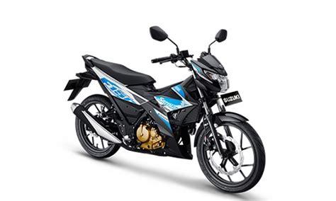 Striping Suzuki Satria F150 V3 5 motor bebek sport yang dijual di indonesia mei 2018