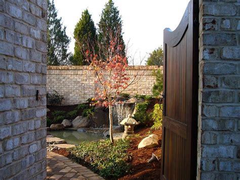 japanese style patio asian style courtyards hgtv