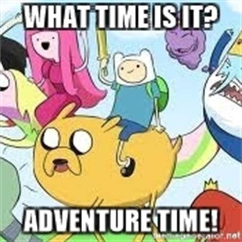Time Meme - adventure time meme meme generator