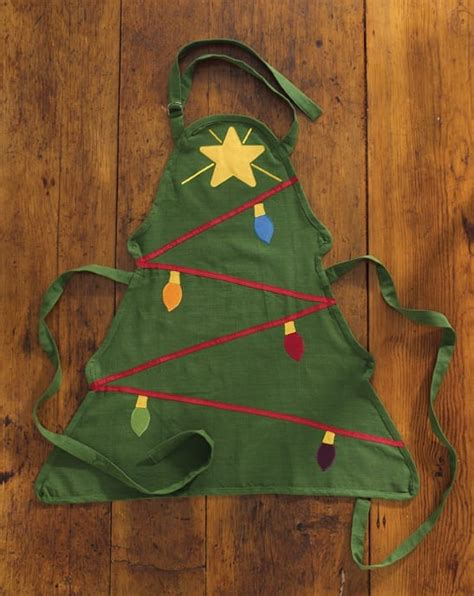 christmas tree apron pattern christmas tree apron park designs