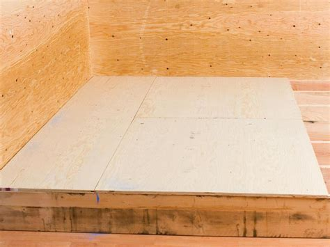 sub floor laying a plywood subfloor diy