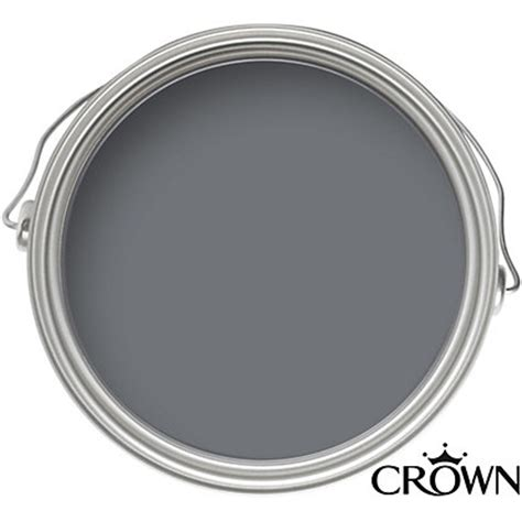 matt paint for bathroom crown kitchen and bathroom breatheasy slate grey matt