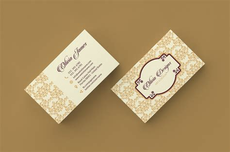 free vintage floral business card template 9 simple minimal business cards graphic