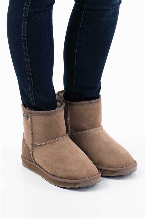 Emu My New Favorite Boots by New Emu Australia Womens Boots Platinum Stinger Mini Ugg