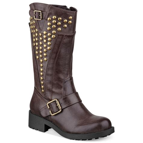 g by guess s cyclone g by guess g by guess womens boots esteem boots in brown