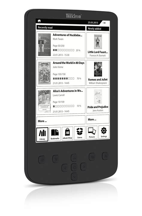ebook reader beleuchtung pyrus 2 led verf 252 gbar ebook reader trekstor mit
