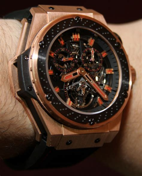 Hublot F1 King Power Black Silver hublot king power f1 tourbillon on swiss classic watches