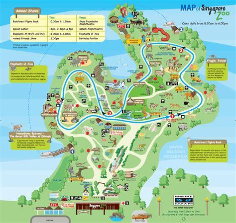 national zoo map smithsonian zoo map
