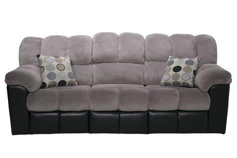 gray reclining sofa and loveseat fountain gray reclining sofa living room sofas mor